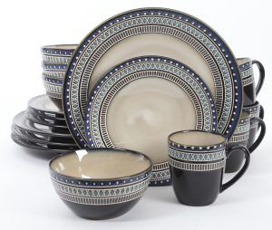 Gibson Elite Magello 16-Piece Dinnerware Set