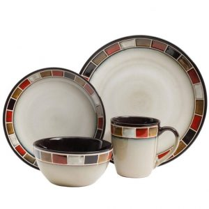 Gibson Elite Casa Roja Dinnerware Set