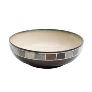 Gibson Elite Casa Gris Serving Bowl