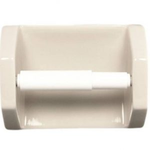 Lenape Bone Ceramic Toilet Paper Holder