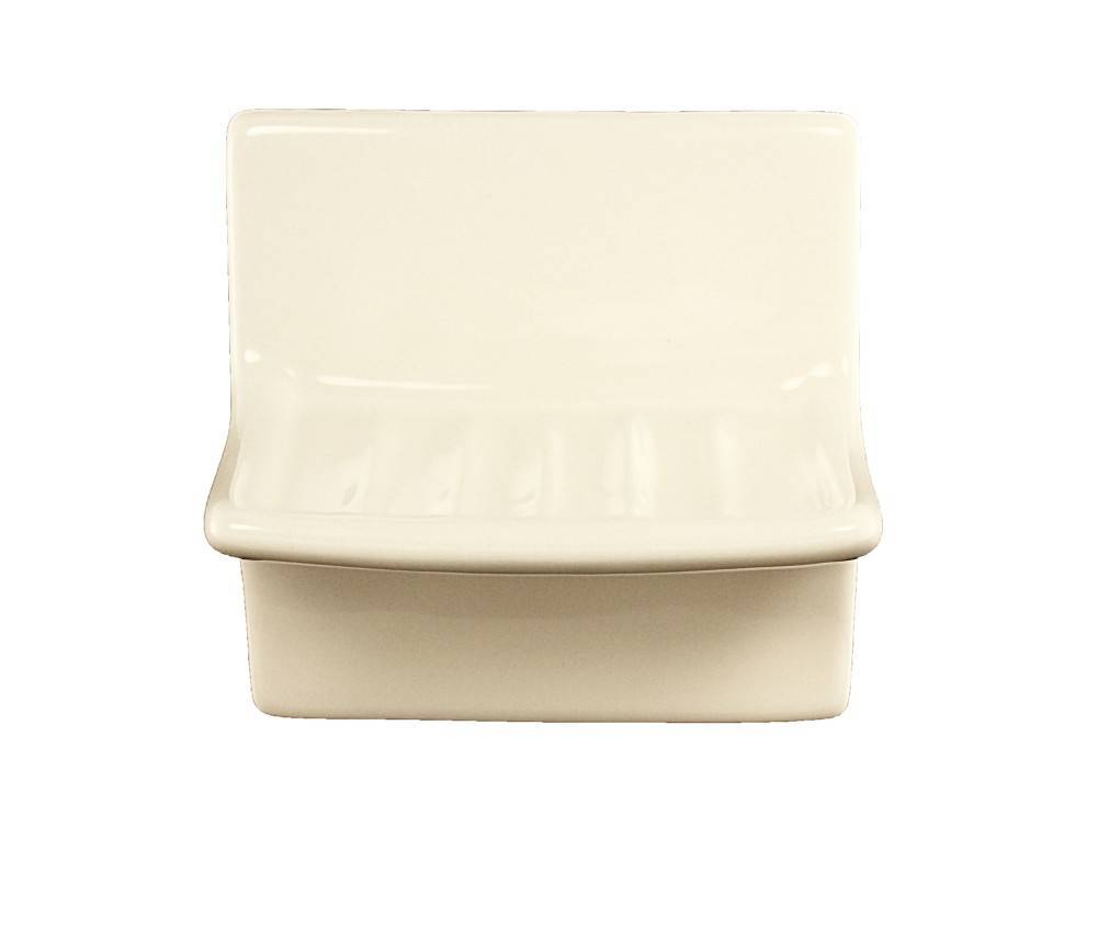 Vanity Soap Dish Proseries Bone Ceramic Plum Street