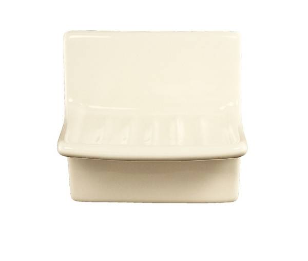 Bone Ceramic Vanity Soap Dish Plum Street Pottery
