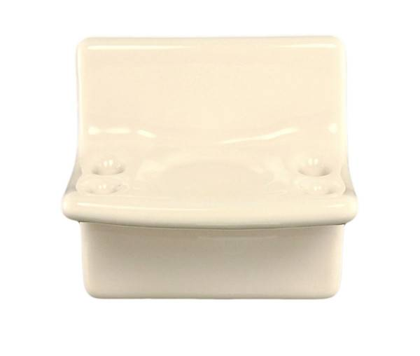 Bone Ceramic Vanity Toothbrush Holder Plum Street Pottery