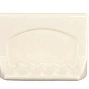 Lenape Bone Ceramic Tub Soap Dish