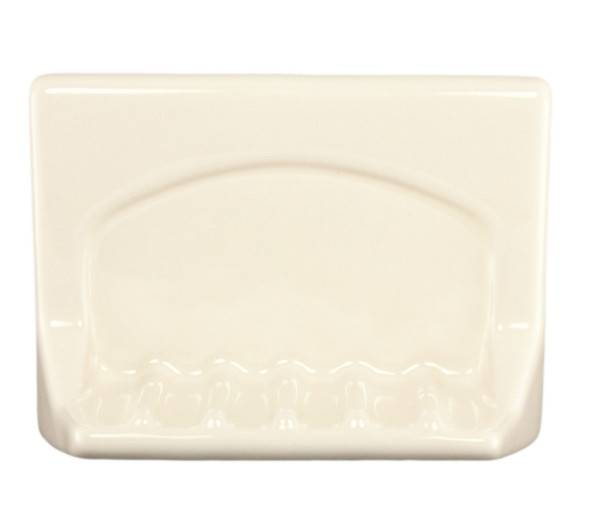 Bone Ceramic Tub Soap Dish Plum Street Pottery