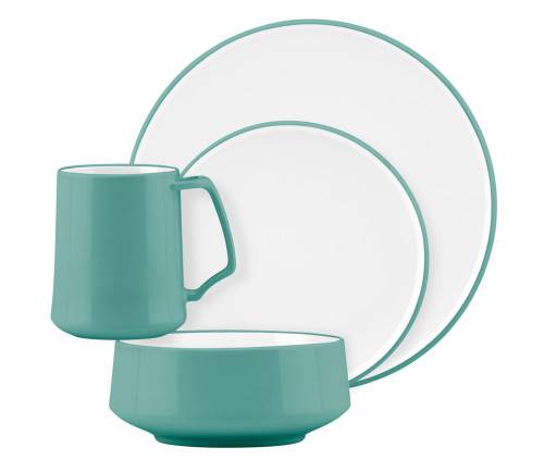 ... Dansk Kobenstyle Teal Stoneware Dinnerware Set ...  sc 1 st  Plum Street Pottery & Small All-Purpose Bowl by Dansk Dinnerware | Plum Street Pottery