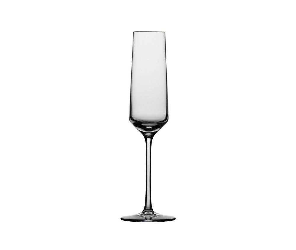 Schott zwiesel pure champagne glass plum street pottery - Fluted wine glasses ...