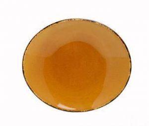 D&V Fortessa Spice Saffron Oval Serving Platter