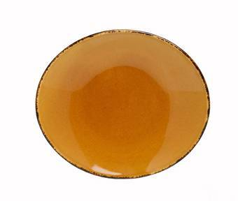 D&V Fortessa Spice Saffron Oval Serving Platter