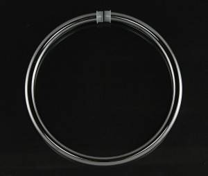 Lenape 6 Inch Chrome bathroom towel ring