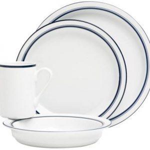 Dansk Bistro Christianshavn Blue Dinnerware Set
