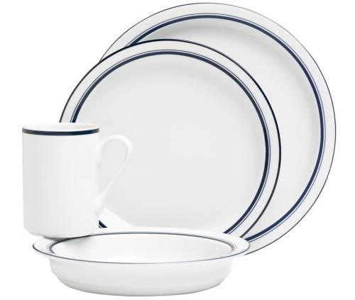 Dansk Bistro Christianshavn Blue Dinnerware Set | Plum Street Pottery