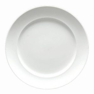 Fortessa Cassia Round White Dinner Plate