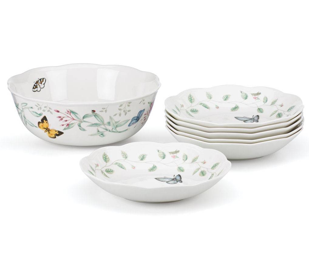Lenox Butterfly Meadow Wine Glasses Home Design Inspirations