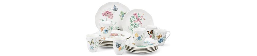 Lenox Dinnerware Butterfly Meadow 7-Piece Pasta Bowl Set  sc 1 st  Plum Street Pottery & Lenox Dinnerware Butterfly Meadow Pasta Bowl Set | Plum Street Pottery