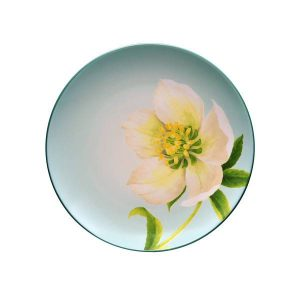 Noritake-Colorwave-Spruce-Floral-Accent-Plate
