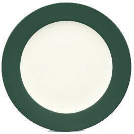 Noritake-Colorwave-Spruce-Rim-Round-Platter