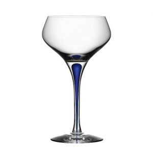 Orrefors-Intermezzo-Blue-Champagne-Flute