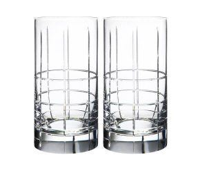 Orrefors Street HighBall Glasses