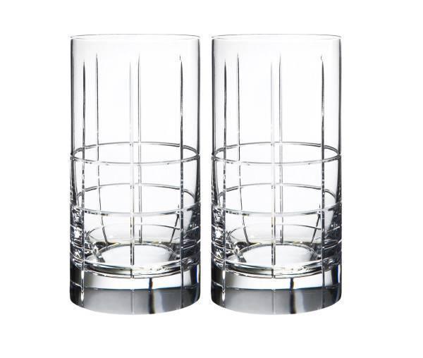 Orrefors-Street-High-Ball-Glasses | Plum Street Pottery