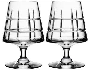 Orrefors Street Cognac Glasses