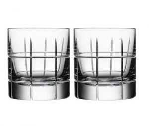 Orrefors Street Whiskey Glasses