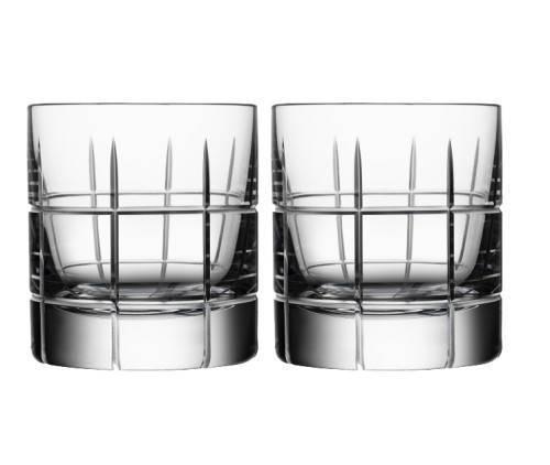 Orrefors Street Whiskey Glasses