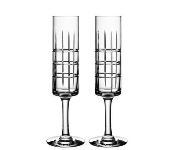 Orrefors-Street-Fluted-Champagne-Glasses