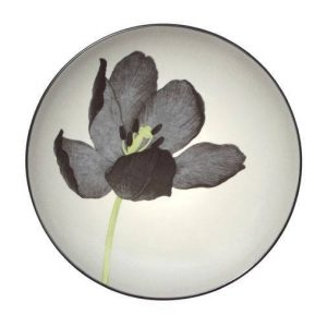 Noritake-Colorwave-Floral-Accent-Plate