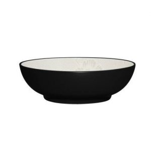 Noritake-Colorwave-Bloom-Graphite-Vegetable-Bowl