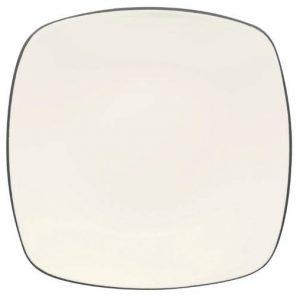 Noritake-Colorwave-Graphite-Square-Dinner-Plate