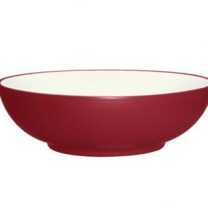 Noritake Colorwave Raspberry Vegetable Bowl