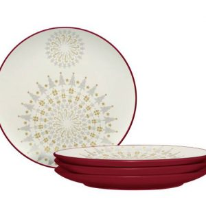 Noritake-Colorwave-Raspberry-Holiday-Accent-Plates