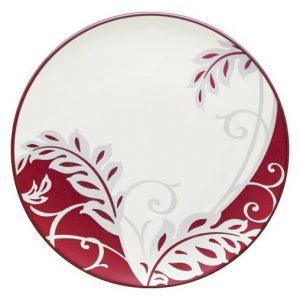 Noritake-Colorwave-Raspberry-Plume-Accent-Plate