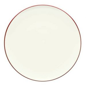 Noritake-Colorwave-Raspberry-Coupe-Round-Platter