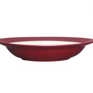 Noritake-Colorwave-Raspberry-Rim-Pasta-Bowl