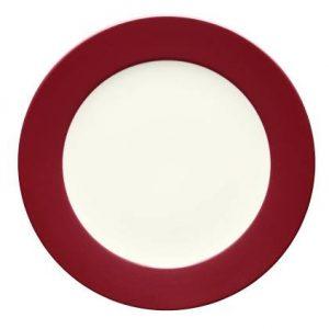 Noritake-Colorwave-Raspberry-Rim-Round-Platter