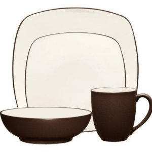 Noritake-Colorwave-Chocolate-Square-Dinnerware-Collection