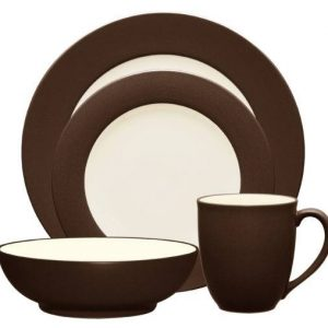 Noritake-Colorwave-Chocolate-Rim-Dinnerware-Collection