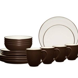 Noritake-Colorwave-Chocolate-Dinnerware-Set