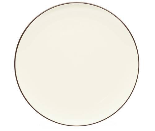 Noritake-Colorwave-Chocolate-Coupe-Round-Platter