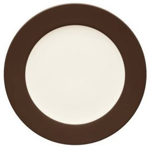 Noritake-Colorwave-Chocolate-Rim-Dinner-Plate