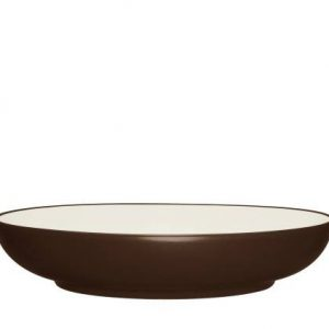 Noritake-Colorwave-Chocolate-pasta-serving-bowl
