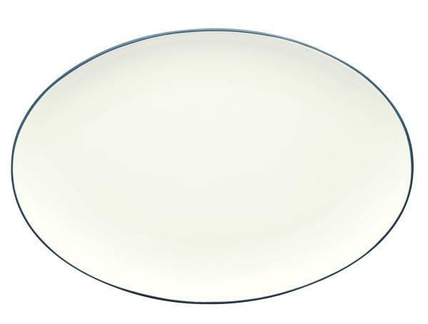 Noritake-Colorwave-Blue-Oval-Platter