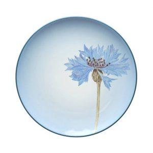 Noritake-Colorwave-Blue-Floral-Accent-Plate
