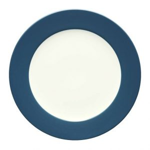 Noritake-Colorwave-Blue-Rim-Dinner-Plate