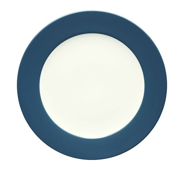 Noritake-Colorwave-Blue-Rim-Dinner-Plate