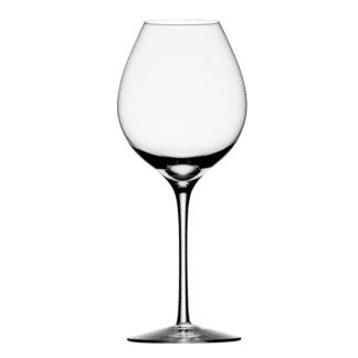 Orrefors Difference Crystal Fruit Wine Glass