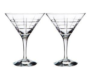 Orrefors Street Martini Glasses