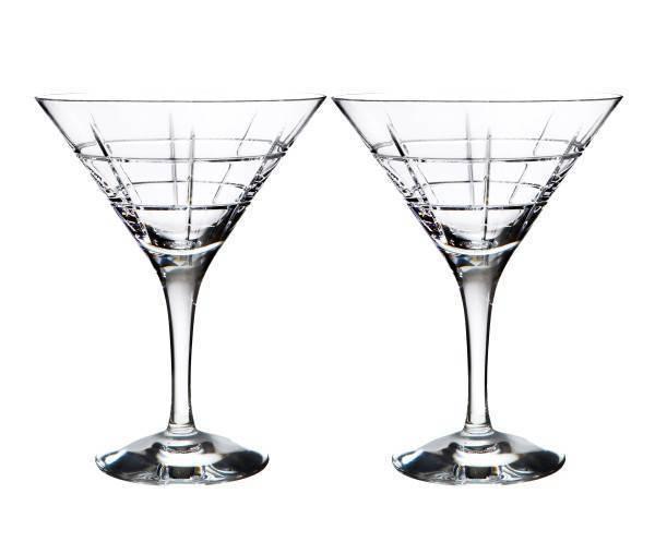 Orrefors Street Martini Glasses
